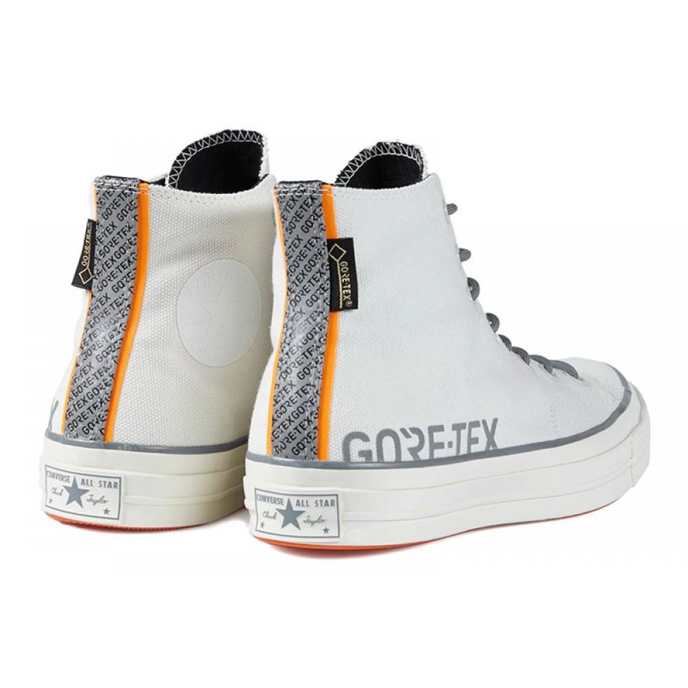 Carhartt Wip X Converse X Gore Tex White Chuck 70 High Tops Shoes