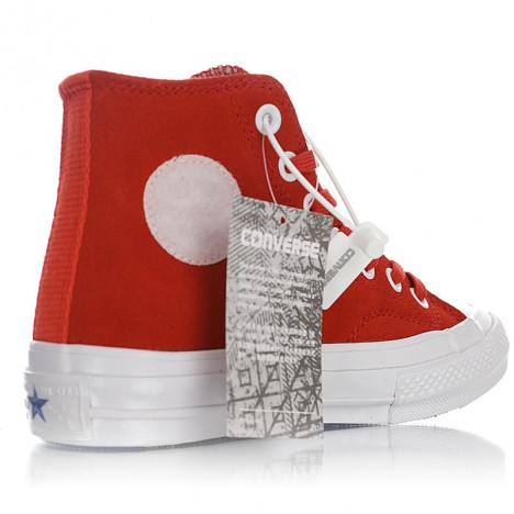 Colette x Club 75 x Chuck Taylor All Star 70 Red High Tops