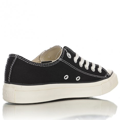 Comme des Garcons Play x Converse All Star Stitching Ox Chuck Taylor Japan Low Black