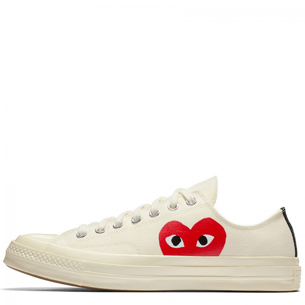 a8e0e113f435 ... High Tops Canvas  Comme des Garcons Play x Converse Chuck Taylor 1970s  Low Whi a few days away 672fd ...