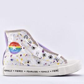 Converse Chucks Fearless Female Pierce Womens High Top Shoes