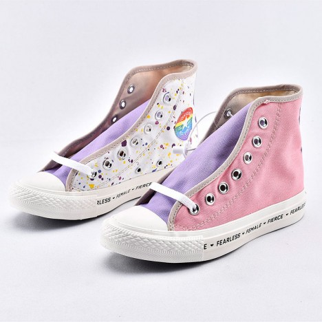 Converse Chucks Fearless Female Pierce Womens High Top Shoes