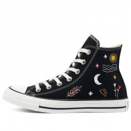 Converse All Star It IS Ok To Wander Hi Black Shoes