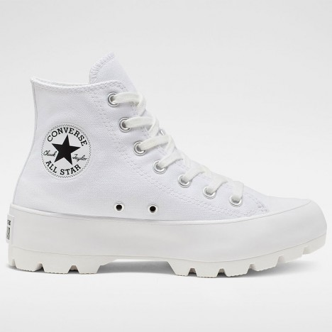 Converse Chuck Taylor All Star Lugged White High Top