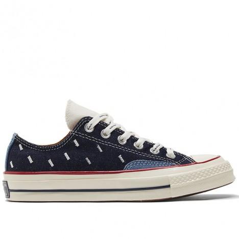 Converse Chuck 70 Ox Midnight Navy Denim Low Shoes