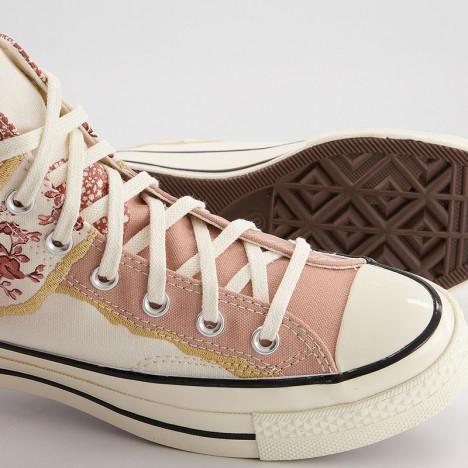 Converse Chuck 70s Egret Golden Repair Multi High Tops