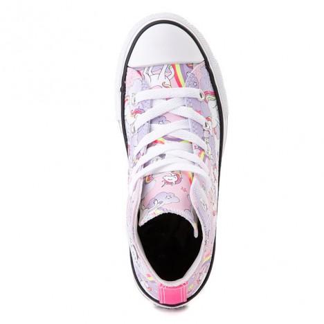 Converse Chuck Taylor All Star Hi Unicorn Rainbow Pink Sneaker