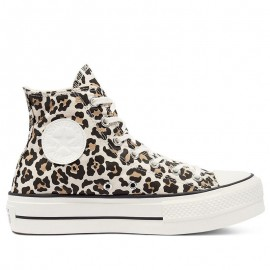 Converse Chuck Taylor All Star Lift Leopard Print High Shoes