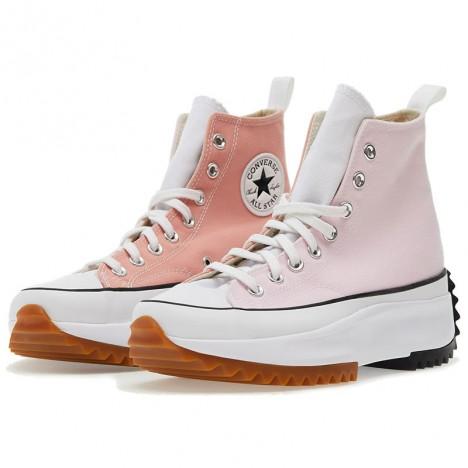 Converse Run Star Hike Pink High Top Shoes