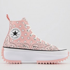 Converse Run Star Hike Storm Pink Paisley Shoes