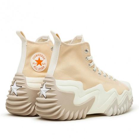 Converse Run Star Motion Beige High Top Shoes