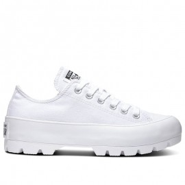 Converse Women Chuck Taylor All Star Lugged Low Top White