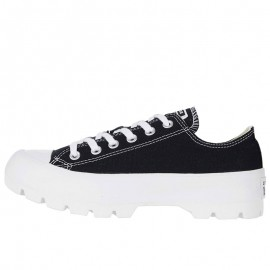 Converse Womens Chuck Taylor Lugged Low Black Shoes