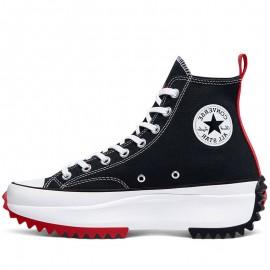 Converse X Keith Haring Run Star Hike Black High Tops Shoes
