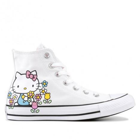Converse x Hello Kitty Chuck Taylor All Star White High Top