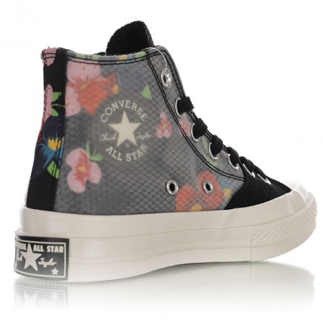 Converse All Star 70s Egret Floral High Tops Shoes