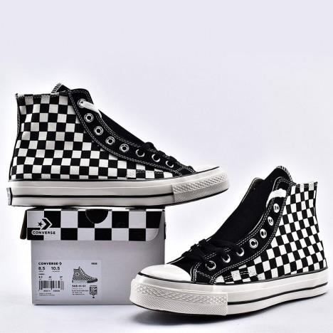 Converse All Star CT High Checkerboard Black White
