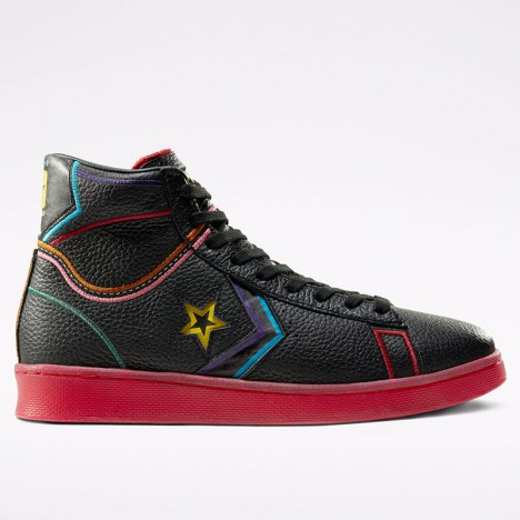 Converse All Star Chinese New Year Pro Leather High Black