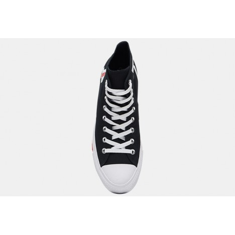 Converse All Star Fear Love High Tops Black