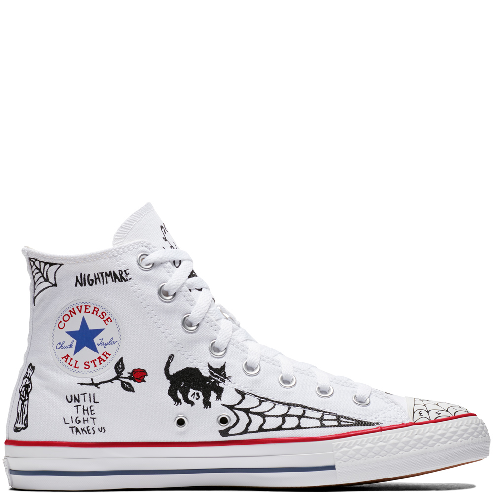 a8114ca45937 Converse All Star Pro Sean Pablo White High Tops Chuck Taylor