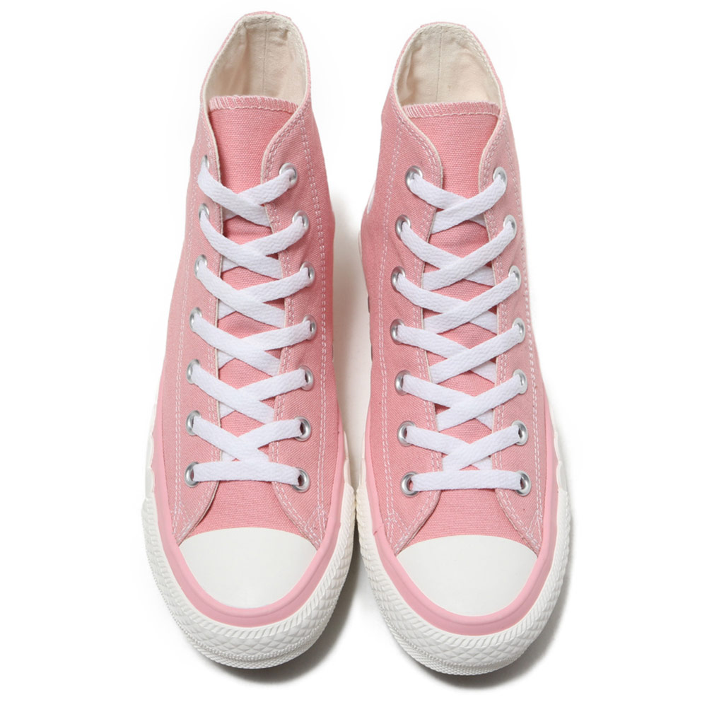 converse all star scallop tape pink womens high tops shoes