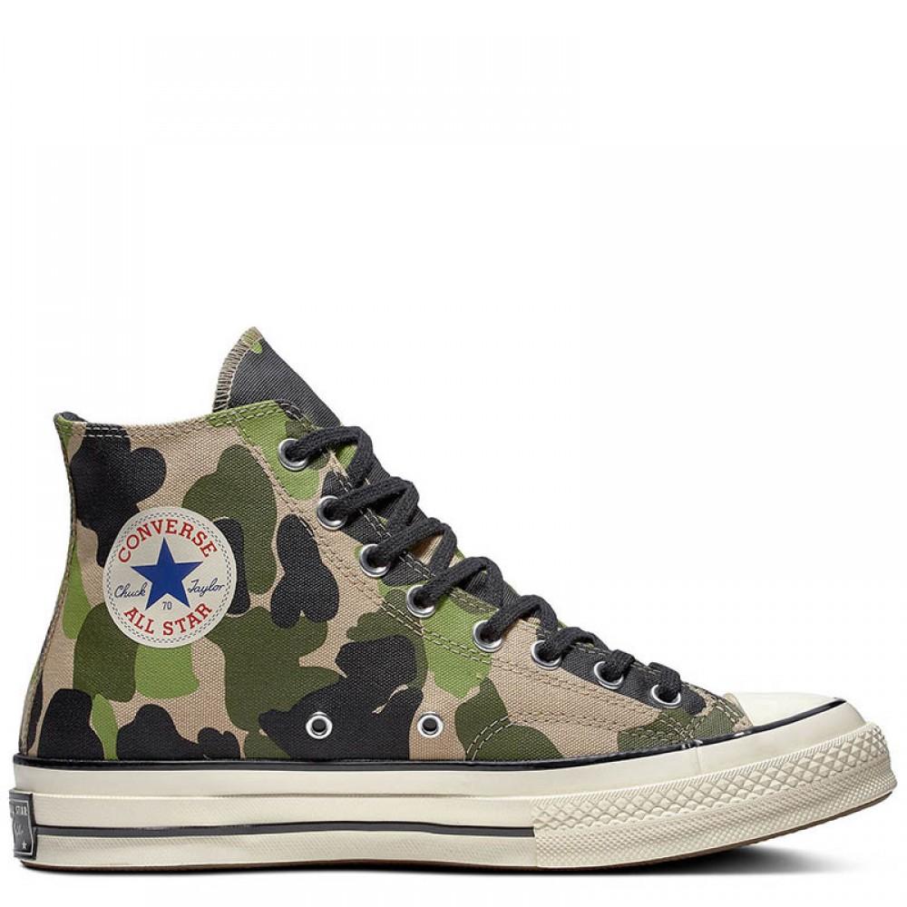Converse Camo Chuck 70 High Top Shoes