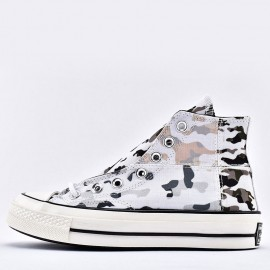 Converse Camo Mixes Blocked Matches Chuck 70 High Grey