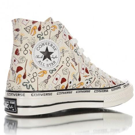 Converse Cartoon Pattern Chuck Taylor All Star 1970s High Tops Shoes