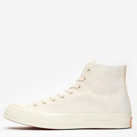 Converse Chuck 70 Hi x Footpatrol White Navy