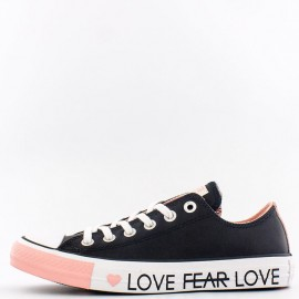 Converse Chuck 70 Low Top Love Graphic Leather Black