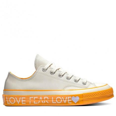 Converse Chuck 70 Low Top Love Graphic Orange
