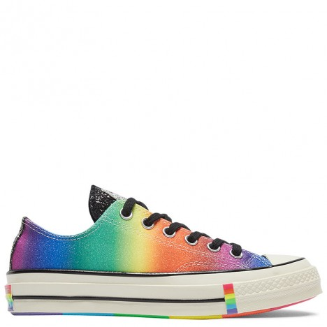 Converse Chuck 70 Pride Rainbow Glitter Low Top