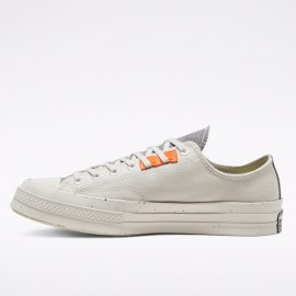 Converse Chuck 70 Renew Low Pale Putty Canvas Shoes