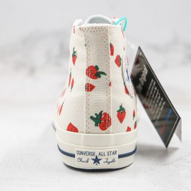 Converse Chuck 70 Strawberry High Tops Shoes