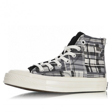 Converse Chuck 70 Twisted Prep Woven High Top Sneakers