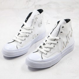 Converse Chuck 70 White Flames Hi Top Mens Sneakers