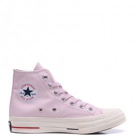 Converse Chuck 70s 18SS Stripe Chambray High Top Pink