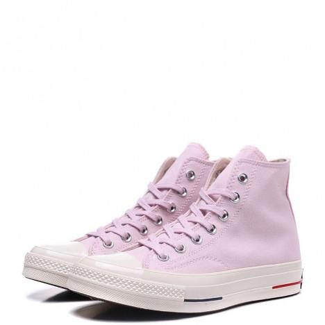 Converse Chuck 70s 18SS Stripe Chambray High Top Pink