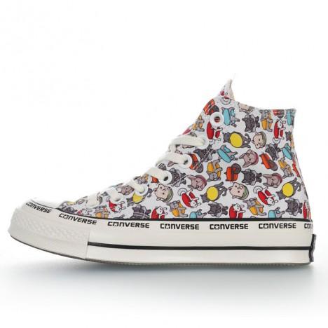 Converse Chuck Taylor 70s Cute Cartoon Print High Top Shoes