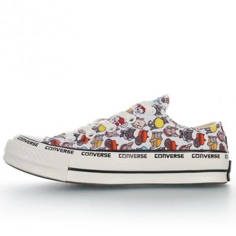 Converse Chuck Taylor 70s Cute Cartoon Print Low Top Shoes