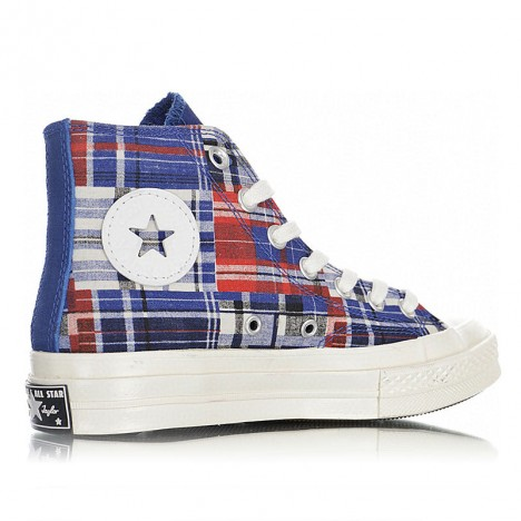Converse Chuck Taylor All Star 70 Twisted Prep Woven Hi Plaid