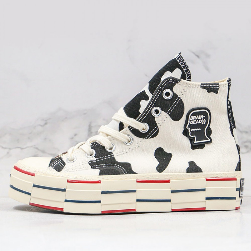 Star 70s Hi Brain Dead Cow Spotted Shoes