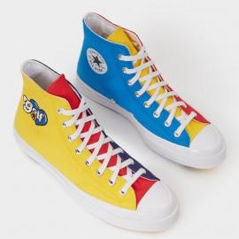 Converse Chuck Taylor All Star 70s Hi Golf Wang Tripanel Blue Yellow Red