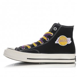 Converse Chuck Taylor All Star 70s Hi Los Angeles Lakers Black