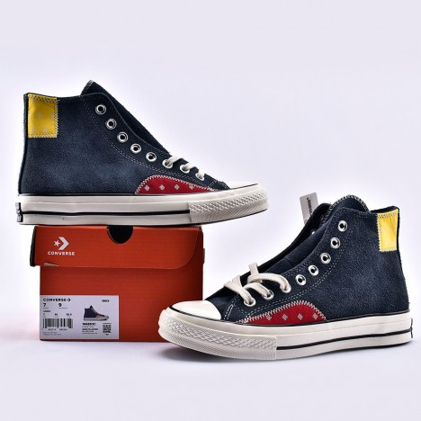 Converse Chuck Taylor All Star 70s High Mixed Material Suede Blue