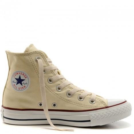 Converse Chuck Taylor All Star Beige Canvas High Top
