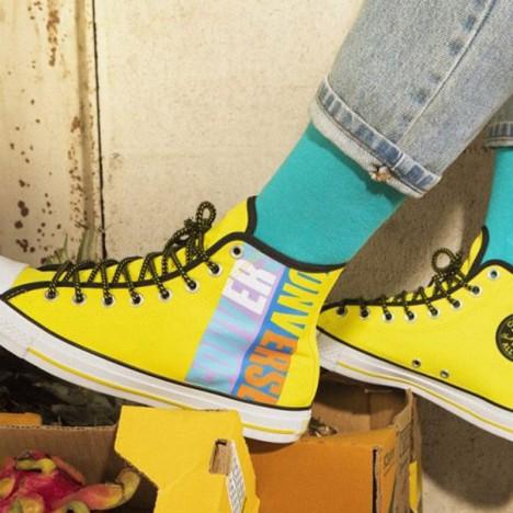 Converse Chuck Taylor All Star Boardies Fresh Yellow High Tops