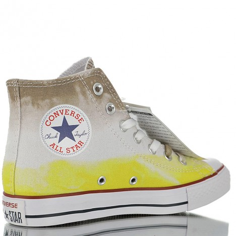 Converse Chuck Taylor All Star Dip Dye High Top Yellow