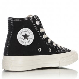 Converse Chuck Taylor All Star Dont Be Mad Smile Face Black High Top