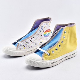 Converse Chuck Taylor All Star Girls Colorful Art Print High